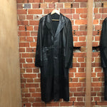 YOHJI YAMAMOTO full length leather coat