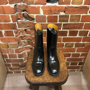 SAINT LAURENT riding boots 37