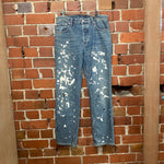 HELMUT LAND 1998 RE-issue 'painters' jeans 26