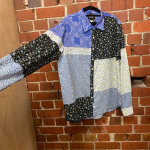 P.A.M patchwork shirt