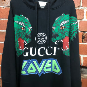 GUCCI hoody with tigers