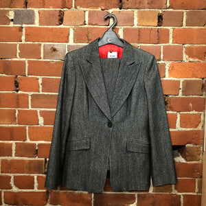 MOSCHINO wool flares suit