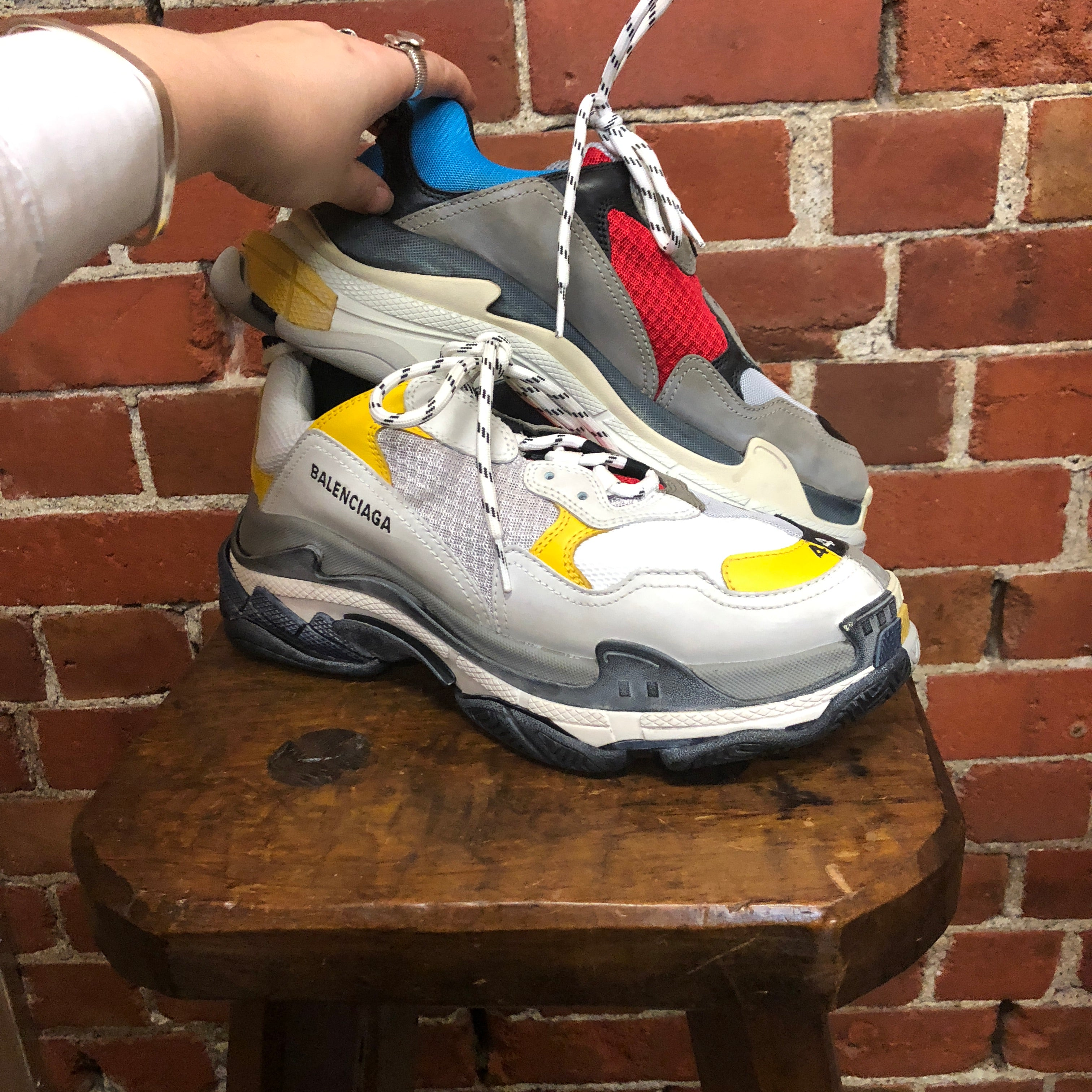 BALENCIAGA Triple S Split 44