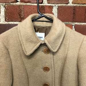 MOSCHINO aplaca, mohair and lambswool coat!