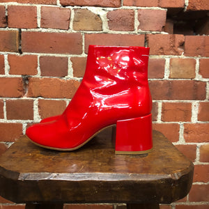 MARTIN MARGIELA MM6 ultra gloss boots 38.5