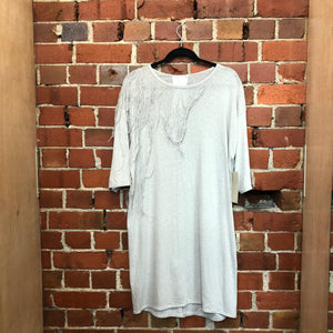 LELA JACOBS cotton t-shirt dress