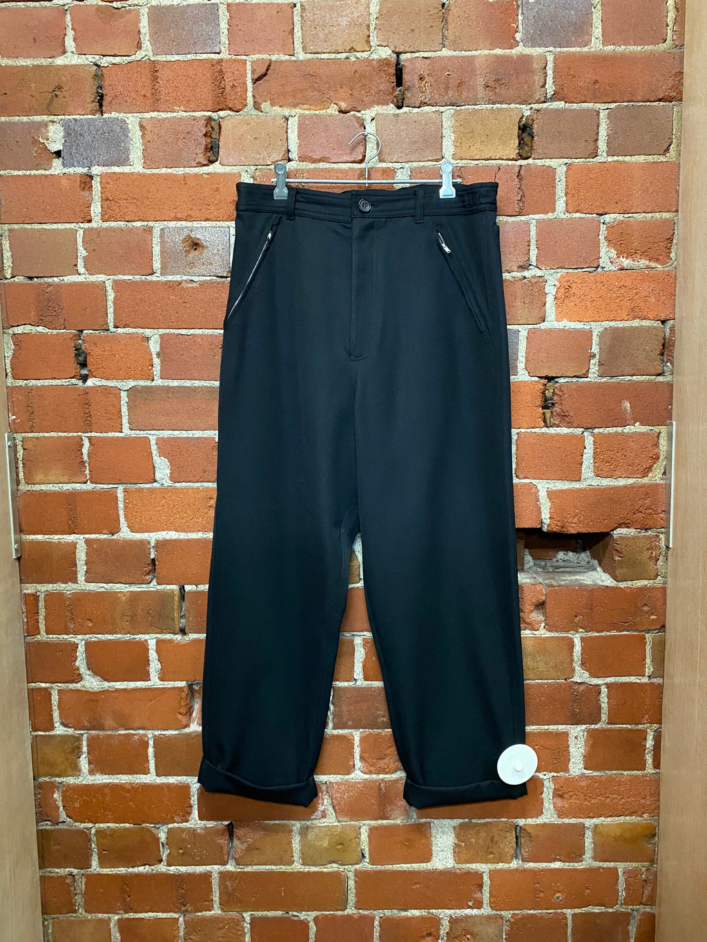 COMME DES GARCONS wool trousers