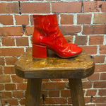 MARGILEA MM6 patent leather boots 6.5