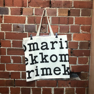MARRIMEKKO canvas tote bag