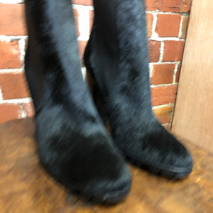 RALPH LAUREN Pony hair boots 39
