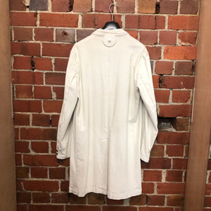 JAPANESE made denim lab coat
