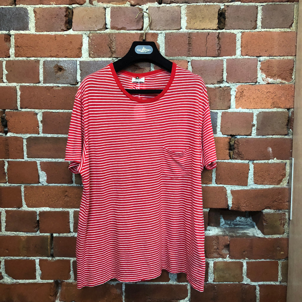 SAINT LAURENT  stripe t-shirt