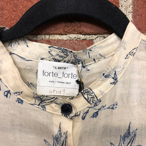 FORTE FORTE NEW cotton shirt