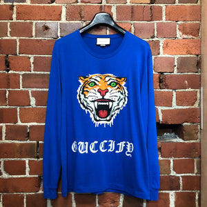 04ad09492dc115 GUCCI embroided tiger long sleeve top 2018 – Wellington Hunters and ...