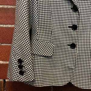 MOSCHINO perfect houndstooth jacket