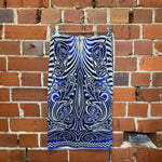 JEAN PAUL GAULTIER mesh tattoo skirt