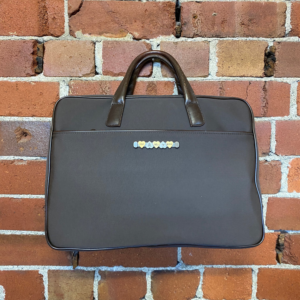MOSCHINO Cheap and Chic briefcase!
