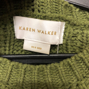 KAREN WALKER cable knit jumper