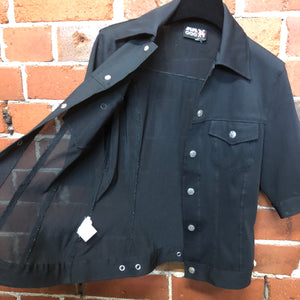 JPG by Gaultier 1990s mesh shirt jacket