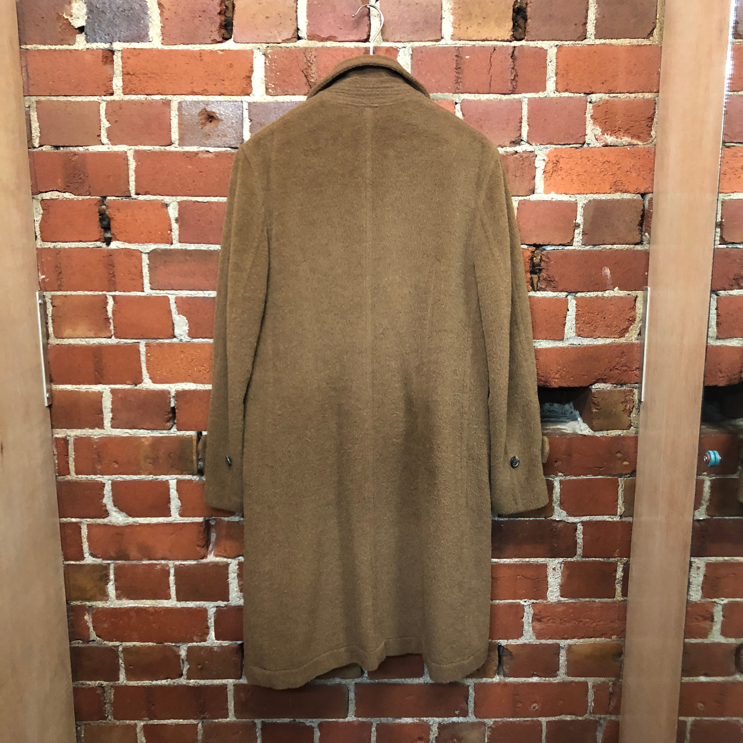 COMME des GARÇONS lambswool double breasted coat