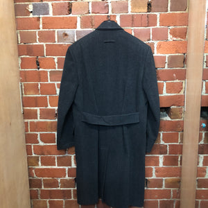 Jean Paul Gaultier 1980s double breasted wool coat!
