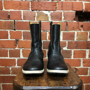 UNDERCOVER leather sneaker boots
