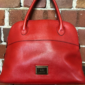 Moschino by Redwall 1990s leather handbag