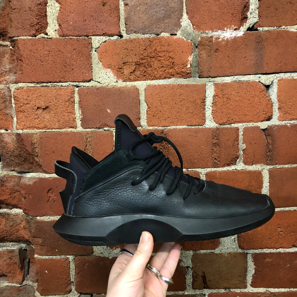 RICK OWENS X ADIDAS leather sneakers 9