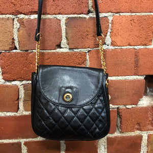 MOSCHINO leather quilted bag