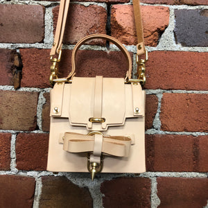 NIELS PEERAER boxy leather handbag