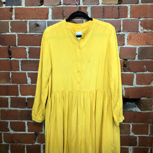 TWENTY SEVEN NAMES linen dress