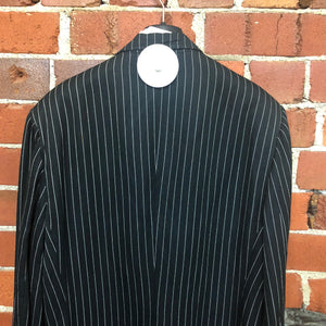 GAULTIER Junior 1980s pinstripe lab coat
