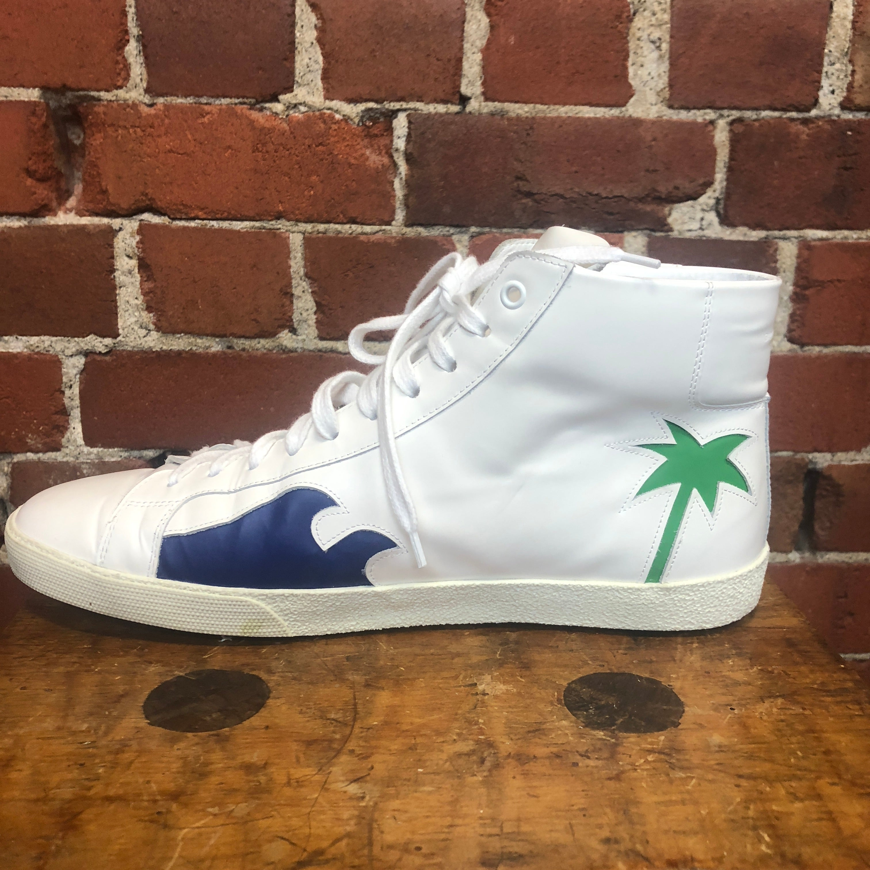 YVES SAINT LAURENT leather sneakers