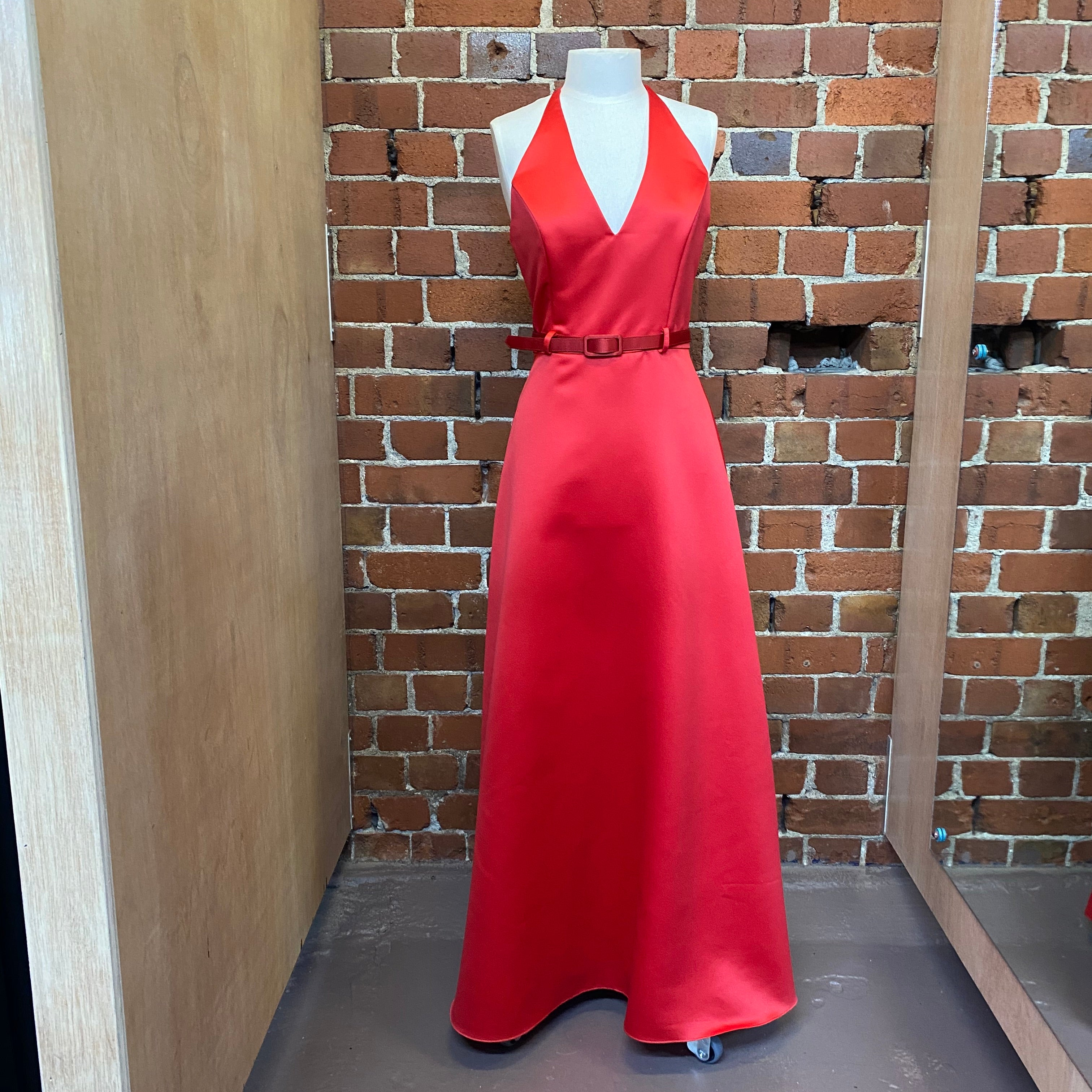 USA Designer tuxedo evening gown