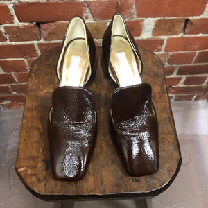 SUZANNE RAE New York patent leather shoes 40.5