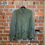 COMME DES GARCONS rayon and cotton jacket (as is)