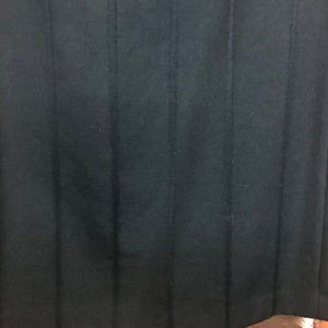 COMME des GARÇONS velvet and wool corset style pencil skirt