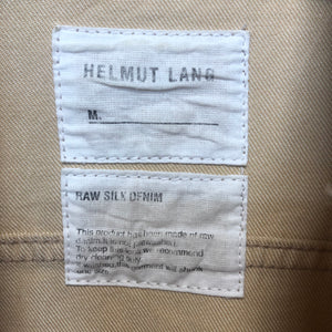 HELMUT LANG silk denim jacket