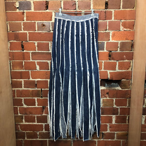 GAULTIER Jeans 1990s denim skirt
