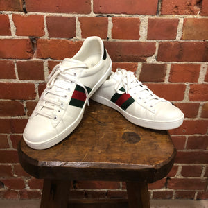 GUCCI ace leather sneakers 44