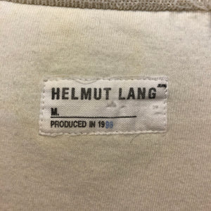 HELMUT LANG 1999 'duvet' cotton filled jumper