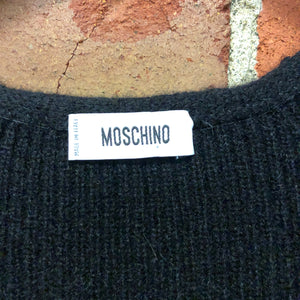MOSCHINO Mohair and lambswool cardy