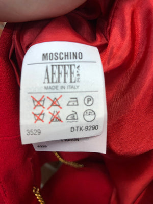 MOSCHINO 1980s cropped summer jacket