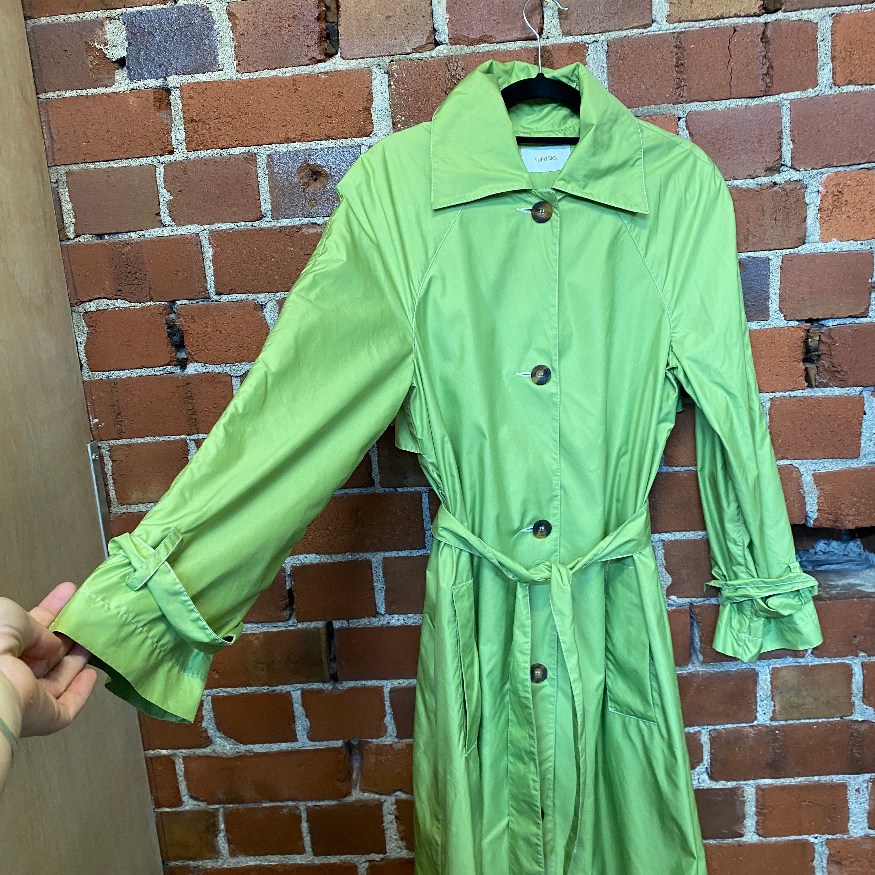 PENNY SAGE shower coat