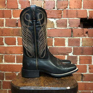 Authentic leather western boots 9