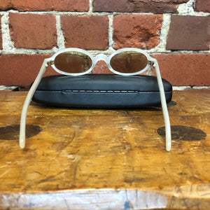 1950s FRENCH mother of pearl oval sunglasses