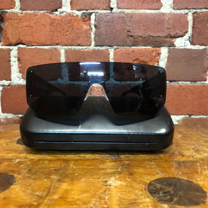 ALEXANDER MCQUEEN shield sunglasses