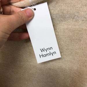 WYNN HAMLYN possum, wool and silk jumper