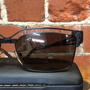ALAIN MIKLI french metal sunglasses