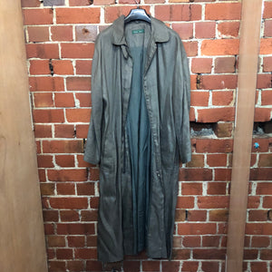 MARILYN SAINTY heavy linen 1988 coat
